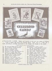 CELLULOID CARDS