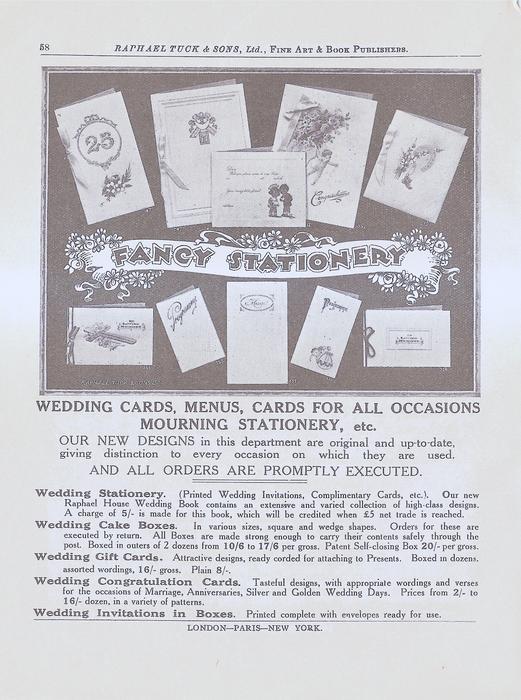 FANCY STATIONERY