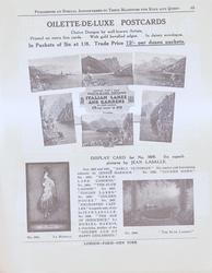 OILETTE -DE-LUXE POSTCARDS