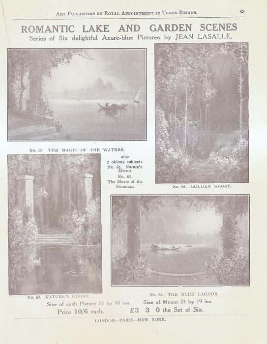 ROMANTIC LAKE AND GARDEN SCENES