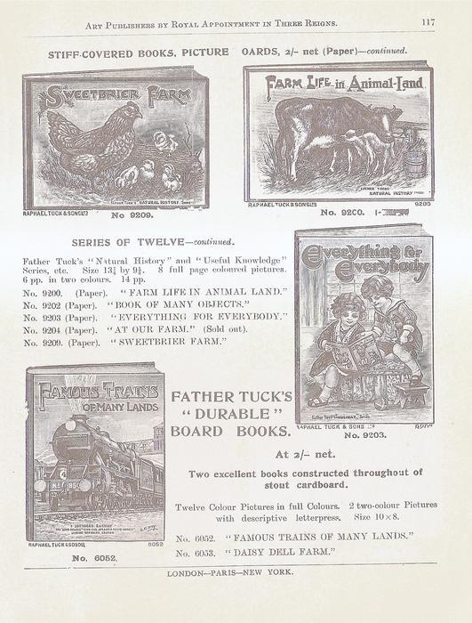 STIFF-COVERED BOOKS, PICTURE BOARDS - CONTINUED