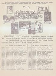 VOL. 6. CHRISTMAS POSTCARDS
