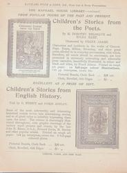 THE RAPHAEL HOUSE LIBRARY - CONTINUED FROM POPULAR POEMS OF THE PAST AND PRESENT