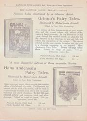 THE RAPHAEL HOUSE LIBRARY - CONTINUED  FAMOUS TALES ILLUSTRATED BY A TALENTED ARTIST