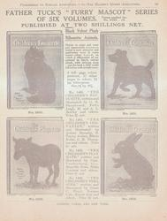 "FATHER TUCK'S ""FURRY MASCOT"" SERIES OF SIX VOLUMES"