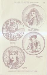 LARGE PLAQUES 13. in diameter