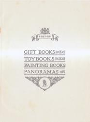 inside cover GIFT BOOKS - TOYBOOKS - PAINTING BOOKS - PANORAMAS