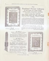 THE RAPHAEL HOUSE LIBRARY OF GIFT BOOKS FOR YOUNG PEOPLE