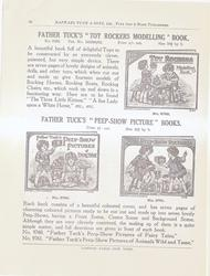 "FATHER TUCK'S ""TOY ROCKERS MODELLING"" BOOK - FATHER TUCK'S ""PEEP-SHOW PICTURE"" BOOKS"