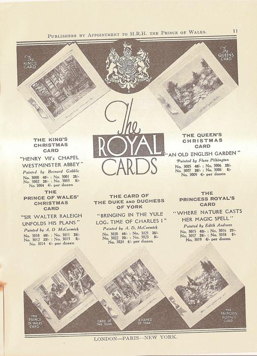 THE ROYAL CARDS