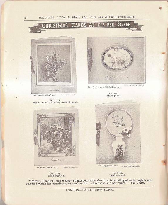 CHRISTMAS CARDS AT 12/ PER DOZEN