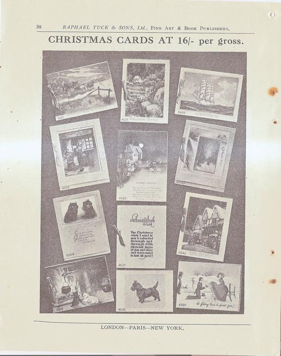 CHRISTMAS CARDS AT 16/ PER GROSS