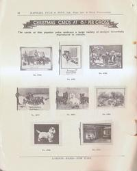 CHRISTMAS CARDS AT 8/ PER GROSS