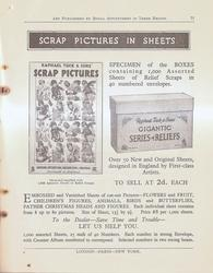 SCRAP PICTURES IN SHEETS