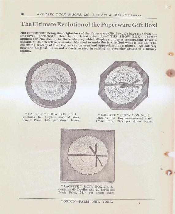 THE ULTIMATE EVOLUTION OF THE PAPERWARE GIFT BOX