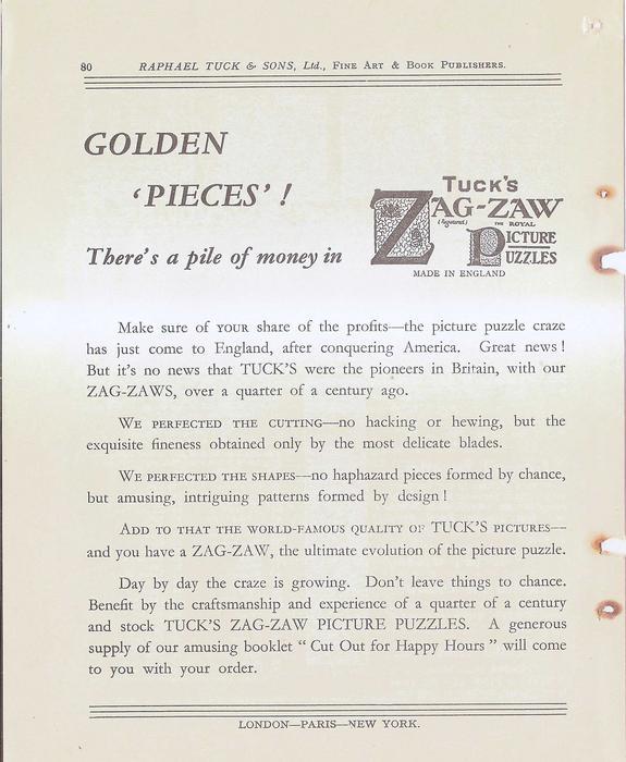 GOLDEN 'PIECES'!