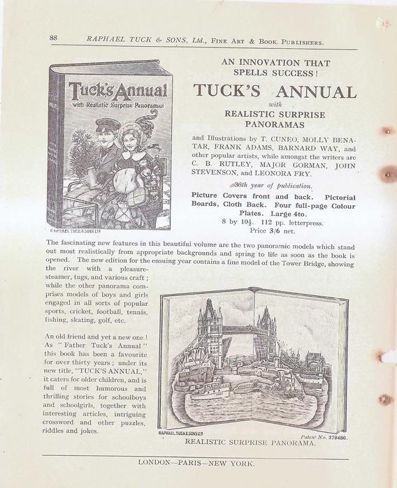 TUCK'S ANNUAL