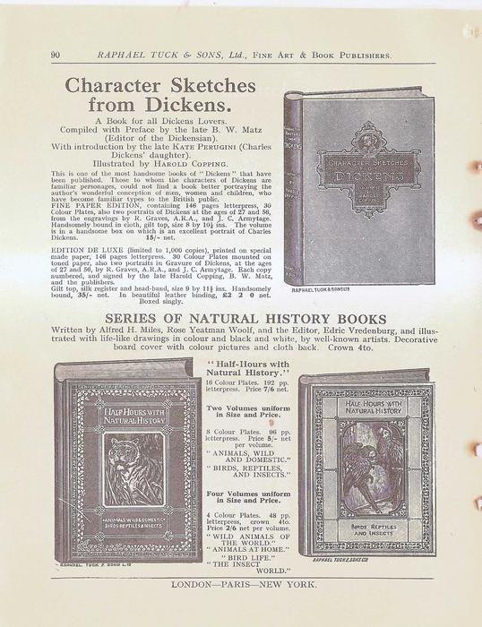 CHARACTER SKETCHES FROM DICKENS