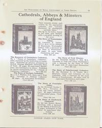 CATHEDRALS, ABBEYS & MINSTERS OF ENGLAND