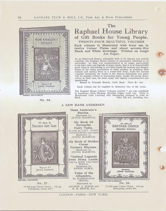 THE RAPHAEL HOUSE LIBRARY