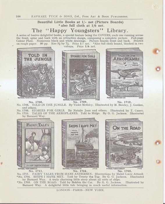 """THE """"HAPPY YOUNGSTERS"""" LIBRARY"""