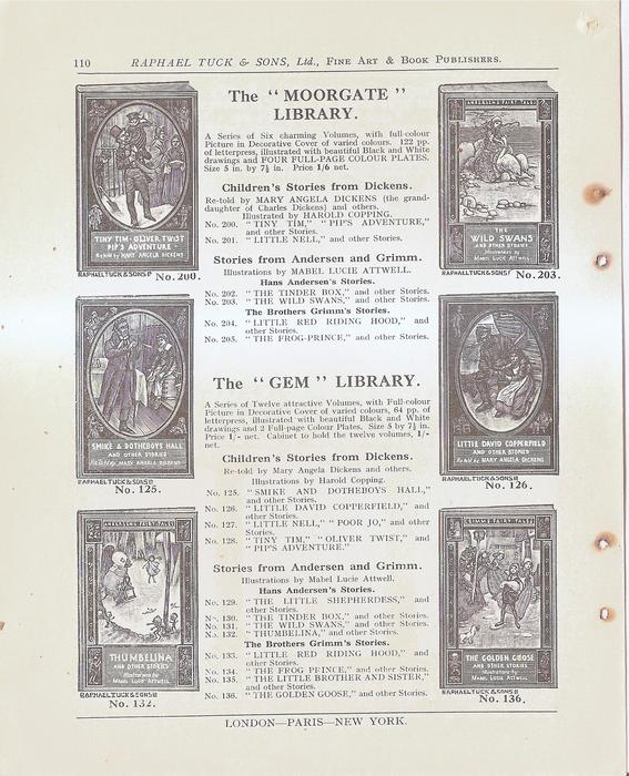 """THE """"MOORGATE"""" LIBRARY - THE """"GEM"""" LIBRARY"""