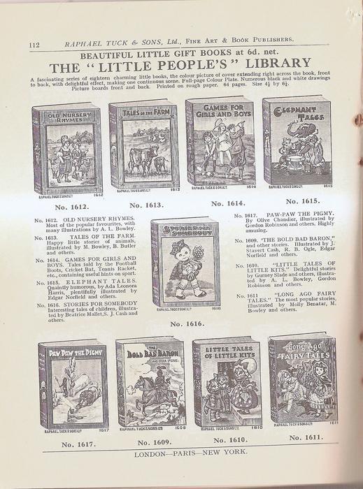 BEAUTIFUL LITTLE GIFT BOOKS AT 6.d NET