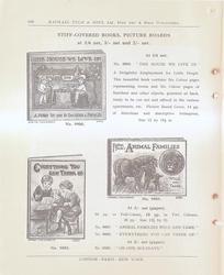 STIFF-COVERED BOOKS, PICTURE BOARDS