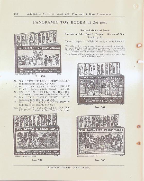 PANORAMIC TOY BOOKS AT 2/6 NET
