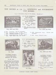 TOY BOOKS - SIXPENNY AND FOURPENNY TOY BOOKS
