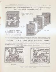 """FATHER TUCK'S PICTURE PANORAMAS - CONTINUED """"TOY ROCKERS"""" AND """"PEEP-SHOW PICTURES"""""""