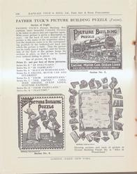 FATHER TUCK'S PICTURE BUILDING PUZZLE (PATENT)
