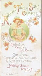 front cover RAPHAEL TUCK & SONS' COMPANY'S CALENDARS, BOOKLETS, TOY BOOKS