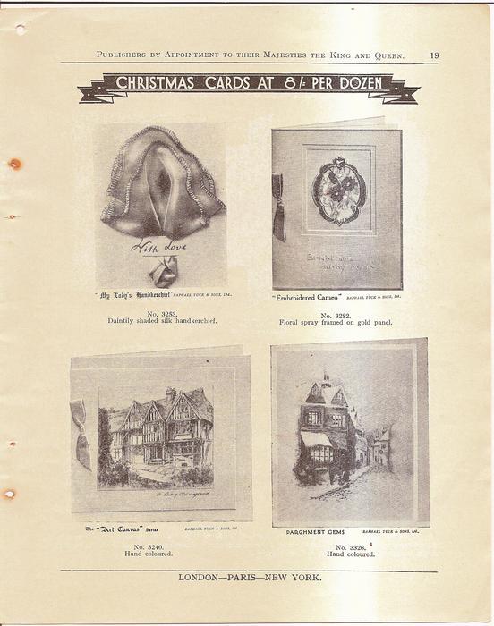 CHRISTMAS CARDS AT 8/ PER DOZEN