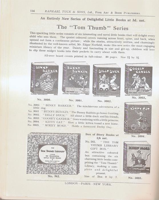 "THE ""TOM THUMB"" SERIES"