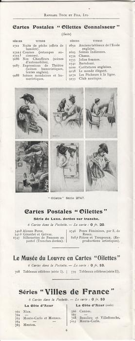 """CARTES POSTALES """"OILETTES CONNAISSEUR"""" (SUITE)"""
