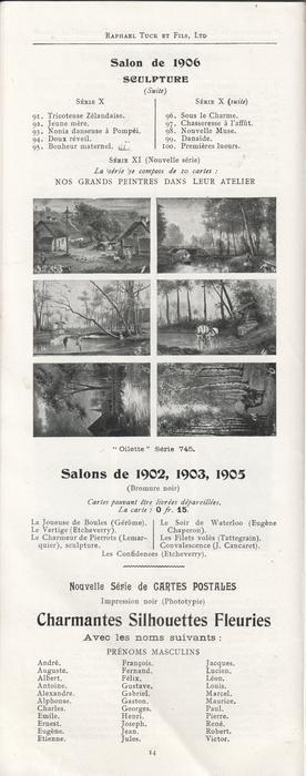 SALON DE 1906 SCULPTURE (SUITE)