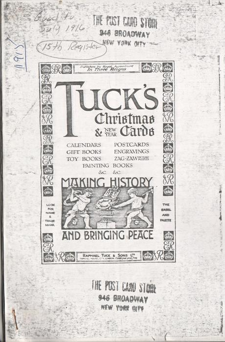 TUCK'S CHRISTMAS & NEW YEAR CARDS