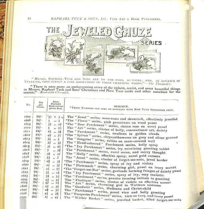 THE JEWELED GAUZE SERIES