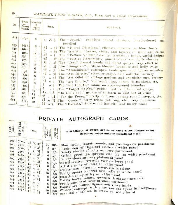 PRIVATE AUTOGRAPH CARDS