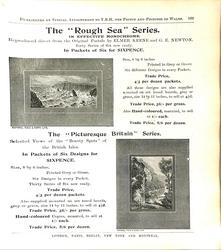 "THE ""ROUGH SEA"" SERIES"