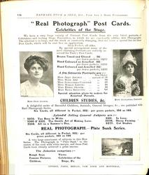 """REAL PHOTOGRAPH"" POST CARDS"