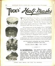 """TUCK'S"" HALF-MASKS"