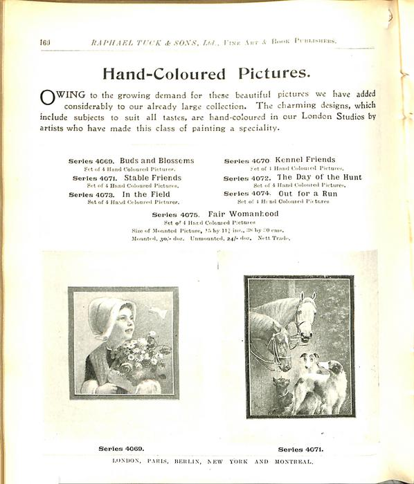 HAND-COLOURED PICTURES