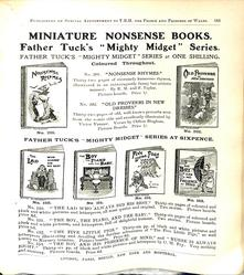 MINIATURE NONSENSE BOOKS.