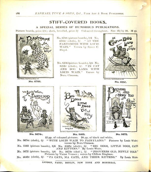 STIFF-COVERED BOOKS
