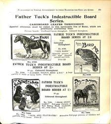 FATHER TUCK'S INDESTRUCTIBLE BOARD SERIES