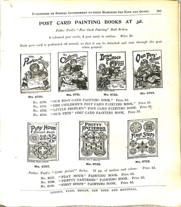 POST CARD PAINTING BOOKS AT 3D