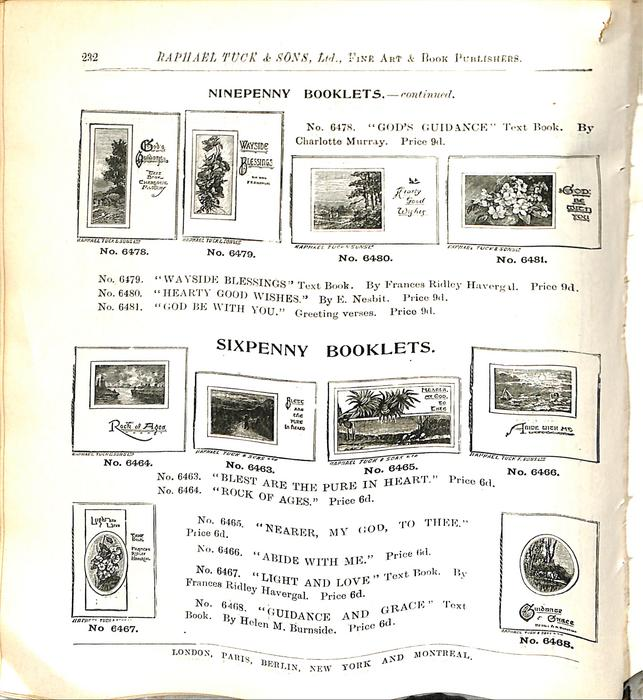 NINEPENNY BOOKLETS - CONTINUED