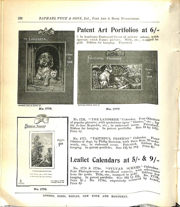PATENT ART PORTFOLIOS AT 6/=